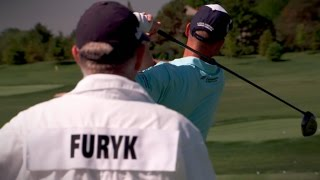 The practice session that led to Jim Furyk's historic round