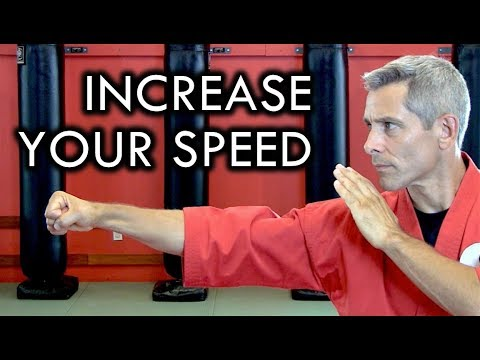 How to Increase Your Speed for Martial Arts and Fighting