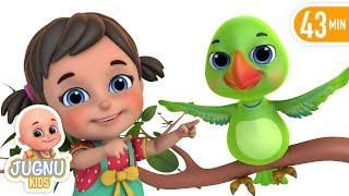 Nani Maa Ne Tota Pala | नानी माँ ने तोता पाला  | Hindi Rhymes for Children by Jugnu Kids
