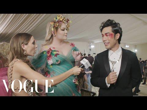 Eugene Lee Yang & Nikkie de Jager on Eugene s Last Minute Look Met Gala 2021 w Emma Chamberlain