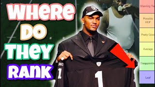 Ranking every #1 overall pick from the 2000