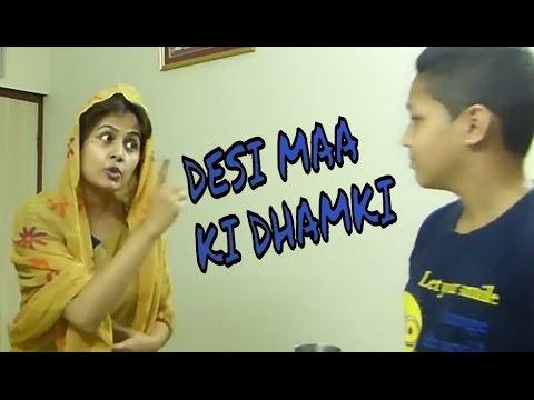 DESI MAA KI DHAMKI | part 2 | by TVC team