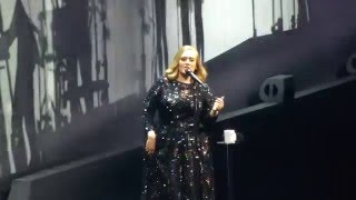 Adele live in Köln Cologne 15.05. 2016 - Water under the bridge