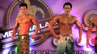 Mr Thailand 2014 - Men's Model Physique (Above 170cm)