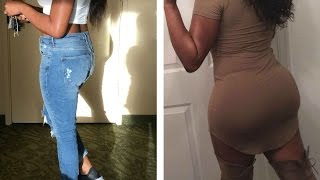 Brazilian Butt Lift Update | One Month Post Op | It JIGGLES! | Before & After Footage