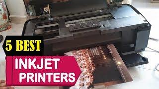 5 Best Inkjet Printers 2018   Best Inkjet Printers Reviews   Top 5 Inkjet Printers