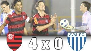 Flamengo 4 x 0 Avaí * Brasileiro 2011 * Melhores Momentos + Gols