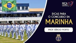 Dica quentíssima para o concurso da Marinha do Brasil (SERGIO PORTO)
