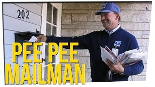 Porch Camera Catches Mailman Peeing ft. DavidSoComedy