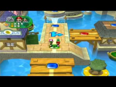 Mario Party 7 Princess Daisy in Grand Canal