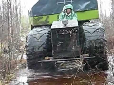 trattore autocostruito 33cv un mostro