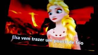 Música da Frozen que calor Kkk🔥🔥🔥🔥🔥