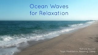 Nature Sounds Ocean Waves for relaxation, yoga, meditation, reading, sleep, study [ Sleep Music ]
