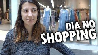 UM DIA NO SHOPPING CENTER DO CANADÁ e muito mais! - Vlog Ep.59