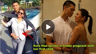 Rufa Mae Quinto is finally pregnant with her first child