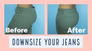How to Downsize Your Jeans In 30mins   SewAddicts