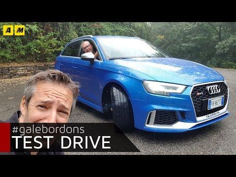 Audi RS3 Scoppietta ruggisce ma sa anche andar piano