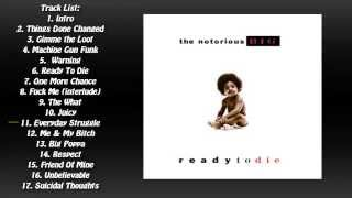Ready To Die (1994) (Full Album) - The Notorious B.I.G.