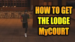 HOW TO GET THE LODGE MYCOURT!!- NBA 2K17 MyCareer