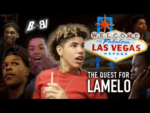 The SEARCH FOR LAMELO On The Las Vegas Strip Shareef Bol Bol Josh Caleb & Cassius Search 2 Hour