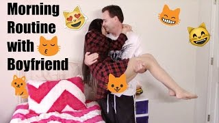 Morning Routine with Boyfriend 2016