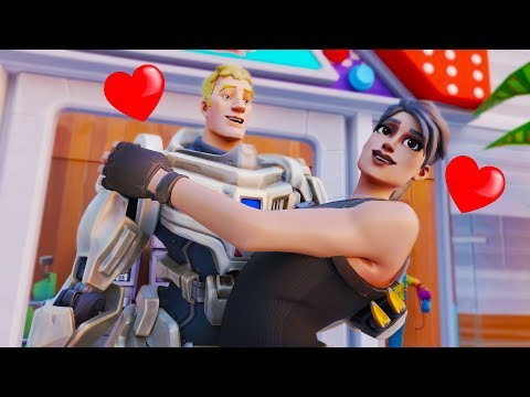THE DEFAULT WHO FOUND LOVE Fortnite Animation Movie Story