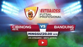 NETIC (CIBINONG) VS UPI (BANDUNG) - (FT:0-10) Extra Joss Futsal 2018