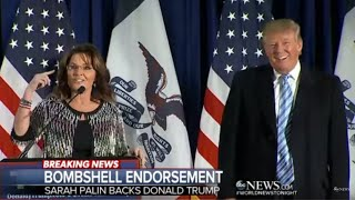 Sarah Palin | Endorsement SPEECH for Donald Trump