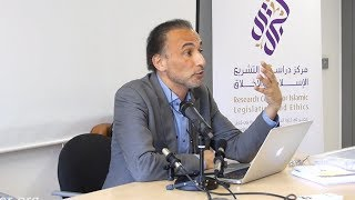 "D2S3 Dr Tariq Ramadan ""The Significance of Maqasid in CILE Vision"" - CILE Granada Summer School"