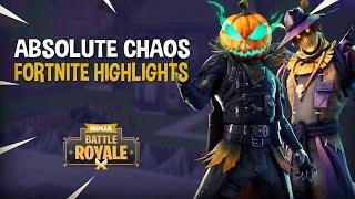 Absolute Chaos!! - Fortnite Battle Royale Highlights - Ninja