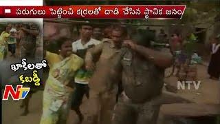 Bhubaneswar Slum dwellers Fight with Odisha Police