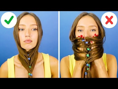 Xxx Mp4 33 COOL HAIRSTYLE TRICKS AND HACKS 3gp Sex