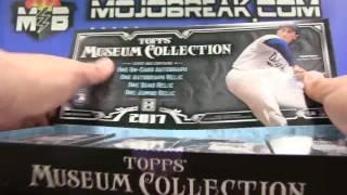 6/25 - 2017 Topps Museum Baseball 6 Box Half Case Break Random Team #3