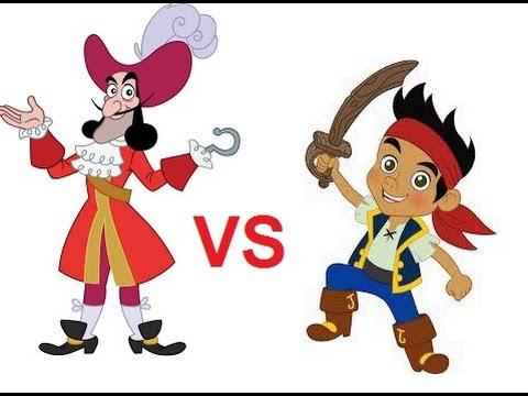 Jake y los piratas de nunca jamás ♛ Jake vs garfio ♛ Juegos 2016 HD Latino