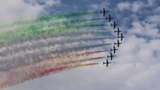 Frecce Tricolori finale  - Luciano Pavarotti: Nessun Dorma (Airpower Zeltweg 2016)