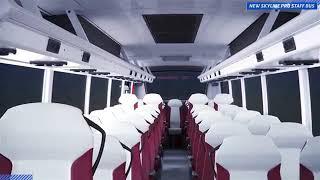 Eicher Skyline Pro Staff Bus AC 3D Video
