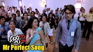 Arya 2 Songs - Mr Perfect - Allu Arjun, Kajal Aggarwal, Navdeep - Ganesh Videos