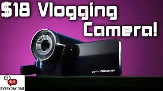 Reviewing the CHEAPEST Vlogging Camera at Walmart!  Reviewing the Cheapest!