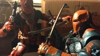 Deadpool Stop Motion- Deadpool vs Deathstroke StopMotion