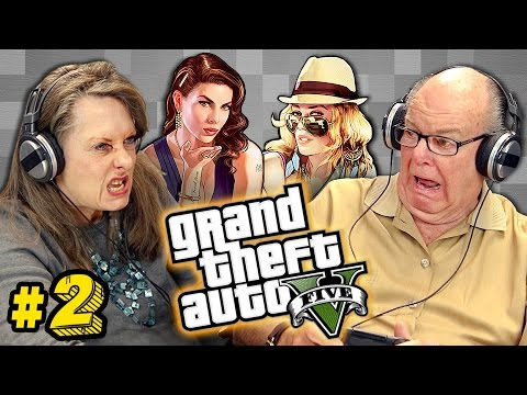 Elders Play Grand Theft Auto V 2 Elders React Gaming