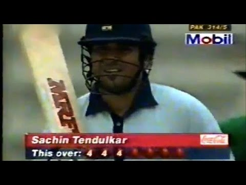 Xxx Mp4 India S Most Famous Win Against Pakistan 1998 Independence Cup Final Full Innings 3gp Sex