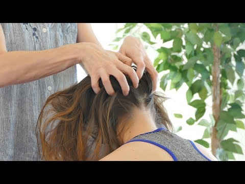 Xxx Mp4 How To Relieve Headaches Neck Tension Stress Chair Massage With Jade Relaxing Pain Relief 3gp Sex