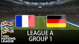 France vs Germany - 2018-19 UEFA Nations League - PES 2019