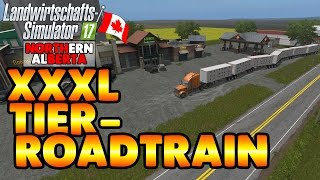 LS17 Northern Alberta #14  XXL Tier Roadtrain - LS17 Let's Play Deutsch