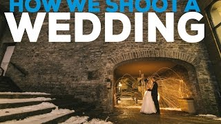 Behind the Scenes Shooting a Wedding