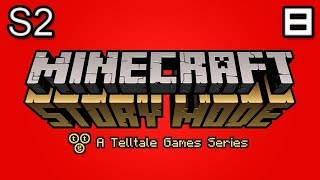 Minecraft Story Mode Let's Play: S2E3 Part 1 - Trapped