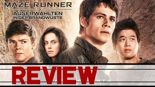 MAZE RUNNER 2 - DIE AUSERWÄHLTEN IN DER BRANDWÜSTE Trailer Deutsch German & Review Kritik (HD)