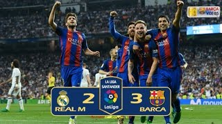 Real Madrid 2-3 Barca (Liga 2016-17)