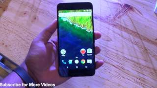 Google Nexus 6P India Hands on Review, Camera, Features