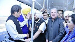 Prime Minister Imran Khan meets Manmohan Singh at Kartarpur